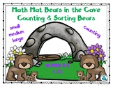 Math Mat Bears in the Cave Counting and Sorting