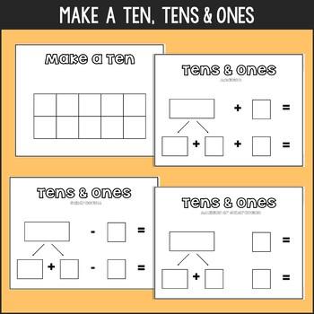Math Mat Buddies {Visuals for Reinforcing Math Strategies}