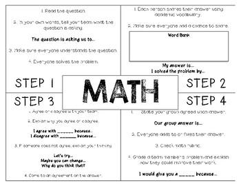 Math Mat {FREEBIE}