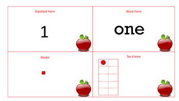 Math Place Value Matching 1-100 Bundle