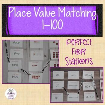 Math Mat Matching 1-100 Bundle