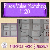 Place Value Match: Numbers 1-20