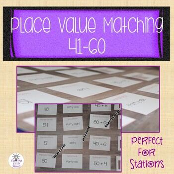 Place Value Matching 41-60