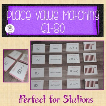 Place Value Matching 61-80