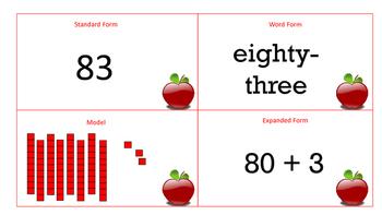 Math Mat Matching 81-100