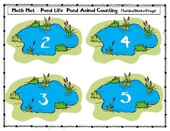 Math Mat Pond Life