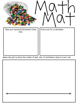 photo about Centimeter Cubes Printable titled Centimeter Cubes Worksheets Instruction Elements TpT