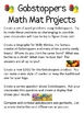Math Mat Review Activity:  Gobstoppers Candy