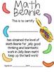 Math Mat Review Activity:  Jelly Beans