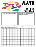 Math Mat Review Activity:  Pentominoes