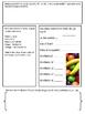Math Mat Review Activity:  Runts Candy