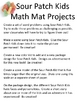 Math Mat Review Activity:  Sour Patch Kids