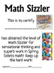 Math Mat Review Activity:  Spring/Easter Sixlets Candy