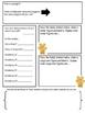 Math Mat Review Activity:  Teddy Grahams
