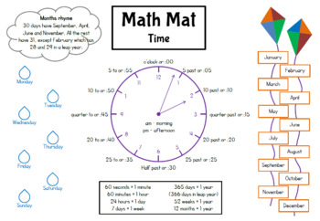 Math Mat - Time