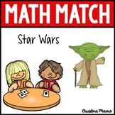 Math Match - Addition & Subtraction - Star Wars Theme