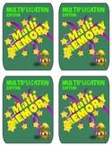Math Match Memory Cards - Multiplication 3 x 2 Set