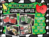 Math Match Up: Counting Apples to 10