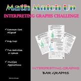 Math Match-Up:  Interpreting Graphs - Bar Graph.