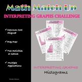 Math Match-Up:  Interpreting Graphs Histograms