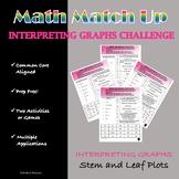 Math Match-Up:  Interpreting Graphs Stem and Leaf Plots