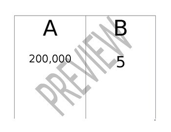 Math Match- Value of a Number