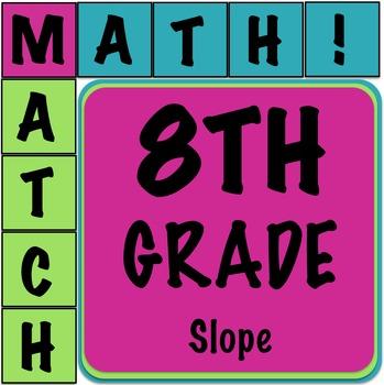Math Matcher Puzzle - Slope