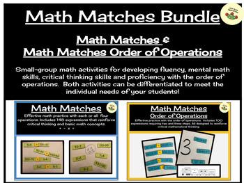 Math Matches Bundle