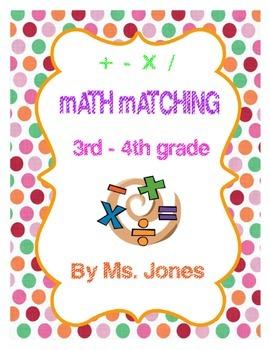 Math Matching
