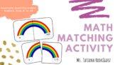 Math Matching Activity Quantity-Number.