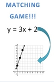 Math Matching Game - Equations to Graphs