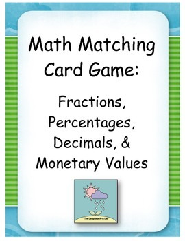 Math Card Game