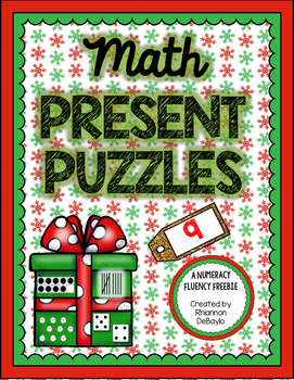 Math Matching Puzzles for Numeracy Fluency