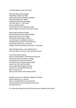Math Math Baby song