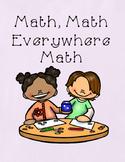 Math, Math, Everywhere Math