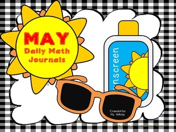 May Math Journal {2nd Grade Common Core Aligned}