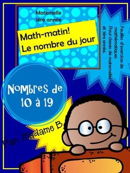Math Matin 10 à 19