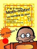 Math Matin 2e 3e année
