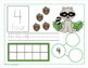 Math Mats 0-10 - Number Recognition - Forest Theme