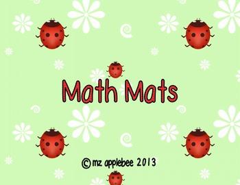 Math Mats: 8 Pack Set