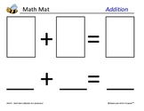 Math Mats - Addition and Subtraction