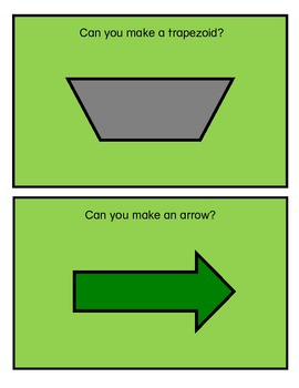 Math Mats: Can You Make My Shape?