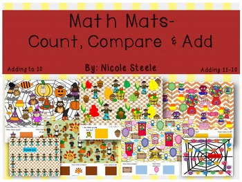 Math Mats- Count, Compare and Add