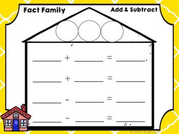 Math Mats: Fact Families