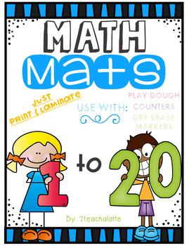 Math Mats-Nmbers 1-20