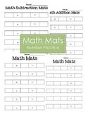 Math Mats (Number Practice)