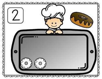Play-Dough Math Mats - Number Sense, Set 5