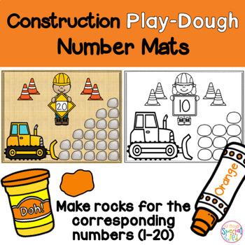 Number Math Mats, Play-doh Set 3