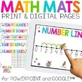 Math Mats | Print and Digital | Distance Learning