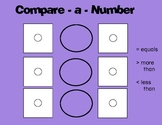 Math Mats-What's the Number?- More/Less